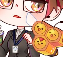 Mystic Messenger x Pokemon - Jaehee Sticker  Sticker