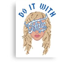 Do it with Flair Canvas Print