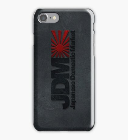 JDM rising sun case (1) iPhone Case/Skin