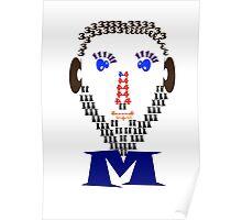 Math man Poster