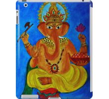 Ganesh, Remover of Obstacles iPad Case/Skin