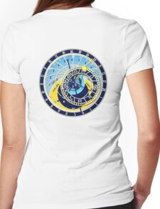 Astronomical, Clock, Prague, Orloj, Czech Womens Fitted T-Shirt