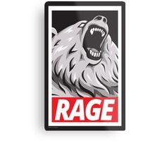 Rage! Metal Print