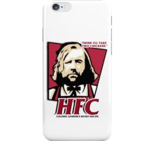 Colonel Sandor: The hound fried chicken (HFC) - Kentucky parody.  iPhone Case/Skin