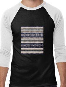 Knitted  Men's Baseball ¾ T-Shirt