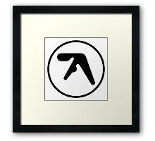 Aphex Twin Logo Framed Print