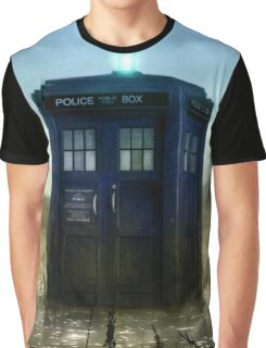 Blue Box - Splash Down Graphic T-Shirt