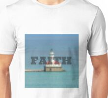 Lighthouse; Faith Unisex T-Shirt