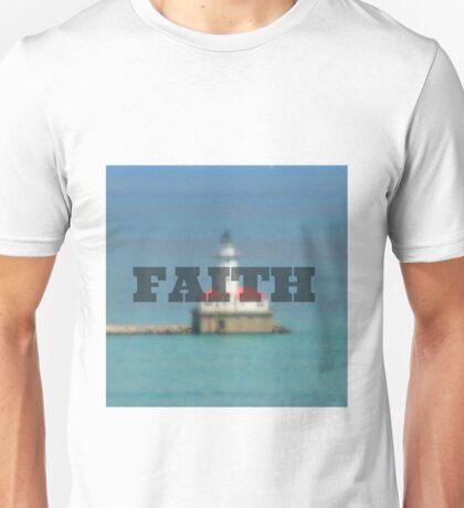 Lighthouse; Faith Unisex T-Shirt