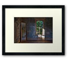 Empty Room I Color Framed Print