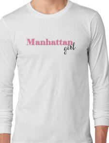 Manhattan Girl Long Sleeve T-Shirt