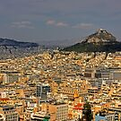 Mount Lycabettus by Tom Gomez