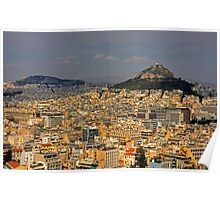 Mount Lycabettus Poster
