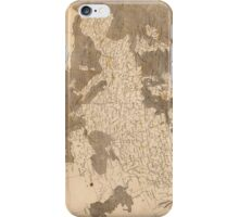 Vintage Map of Europe (1804)  iPhone Case/Skin