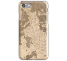 Vintage Map of Europe (1804)  iPhone Case/Skin