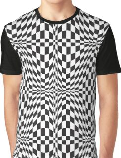Check Twist Graphic T-Shirt