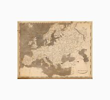 Vintage Map of Europe (1804)  Unisex T-Shirt