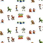 Toy Story by AlessioAgius