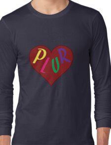 Live The PLUR Life Long Sleeve T-Shirt