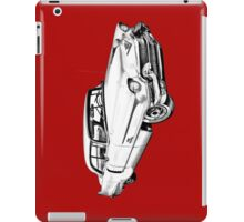 1956 Sedan Deville Cadillac Car Illustration iPad Case/Skin