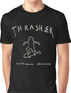 THRASHER skateboard mag Graphic T-Shirt