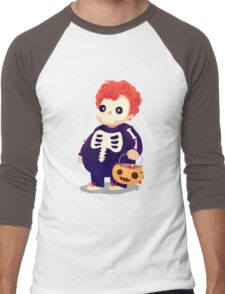 Halloween Kids - Skeleton Men's Baseball ¾ T-Shirt
