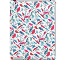 PInk Watercolor and Ink Birds iPad Case/Skin
