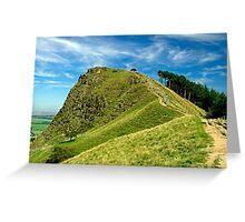 Back Tor on The Great Ridge Greeting Card