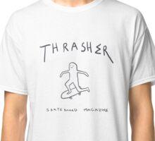 THRASHER skateboard mag white Classic T-Shirt