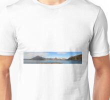 Loch Scavaig and The Cuillins - Panorama Unisex T-Shirt