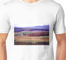 Pennsylvania Farm in Autumn Unisex T-Shirt