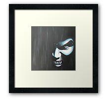 Demon In the Dark Framed Print