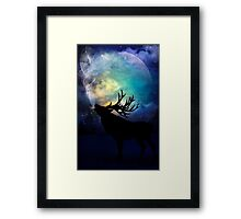 Mid-Winter Moon - The Call Framed Print