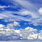 Just Clouds by John Thurgood