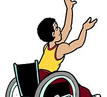Wheelchair Basketball by kwg2200