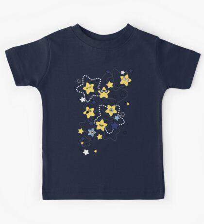 Cute Night Stars Kids Tee