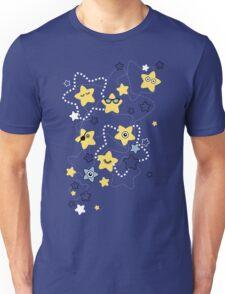 Cute Night Stars Unisex T-Shirt