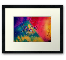 BuBBle T Framed Print