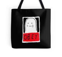 OBEY white Tote Bag