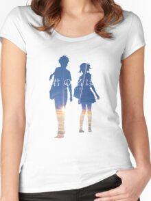 Kimi no na wa Women's Fitted Scoop T-Shirt