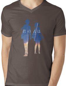 Kimi no na wa Mens V-Neck T-Shirt