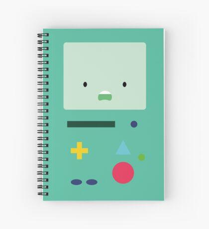 BMO - Adventure Time - Flatdesign Spiral Notebook
