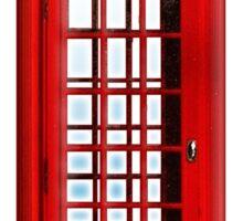 Red, phone, telephone, box, Kiosk, London, England, British, UK Sticker