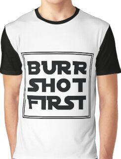 Aaron Burr Short First Graphic T-Shirt