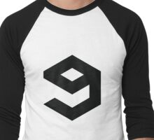 9gag Logo Men's Baseball ¾ T-Shirt