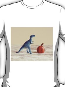 Mr. Dinosaur With Pumpkin  T-Shirt
