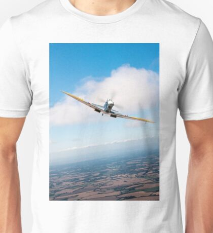 Spitfire poster head-on Unisex T-Shirt