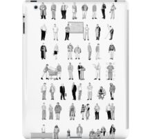 52 Characters From The Wire iPad Case/Skin