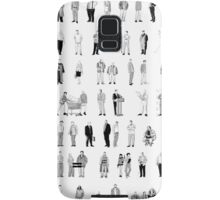 52 Characters From The Wire Samsung Galaxy Case/Skin