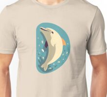 D for Dolphin Unisex T-Shirt